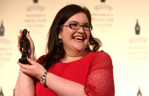 Author Naomi Alderman wins the 2017 Bailey's Women's Prize for Fiction for her novel 'The Power' at the Royal Festival Hall on June 7, 2017 in London, England 4
