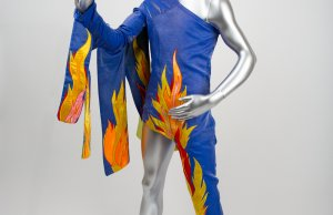 David Bowie - Blue Flame Outfit _ Marquee Club