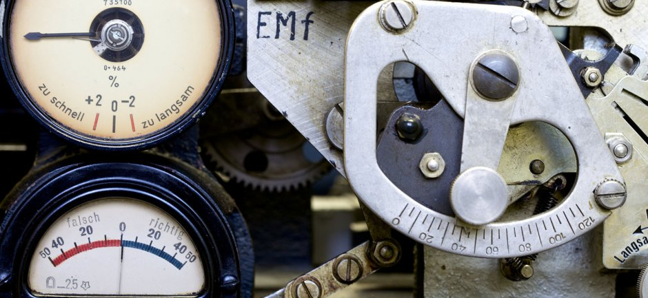 LORENZ MACHINE (closeup) ∏ Image by Shaun Armstrong, courtesy of Bletchley Park Trust