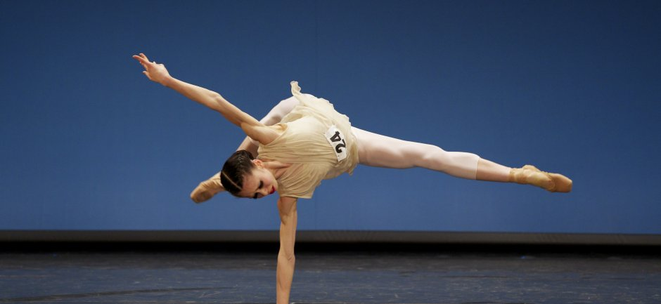 Sasha Leong at Genée International Ballet Competition 2013. Photo by Andy Ross
